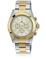 Dk10211-9 Golden/Silver Analog Watch