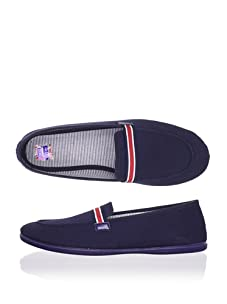 Chuches Kid's Moccasin (Navy)