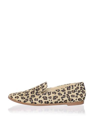 Matt Bernson Women's Gitanes Smoking Shoe (Leopard)