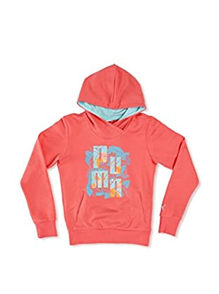 Puma Sudadera Td Hooded Sweat (Coral)