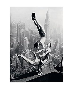 Artopweb Panel Decorativo Acrobati Empire State Building