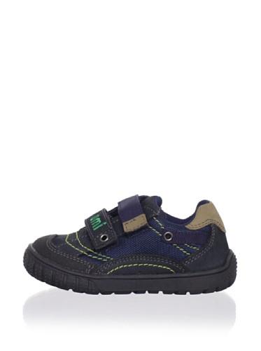 umi Kid's Borneo Sneaker (Toddler) (Ocean/Dark Navy)