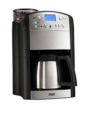 Kaffeemaschine 32x24x39 cm schwarz/metall