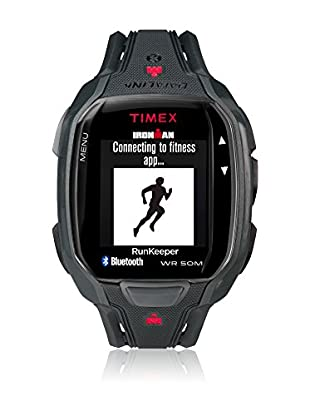 TIMEX Reloj de cuarzo Man Ironman Run X50+ Negro 42 mm
