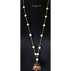 August by Ritu Cipy Long Lariat Chain