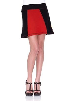 HHG Falda Eileen (Negro / Rojo)