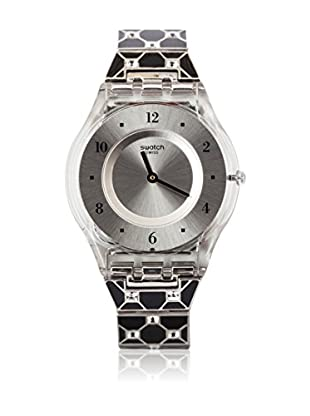 Swatch Quarzuhr Woman ELEGANTLY FRAMED BLACK SFK367G 34.0 mm
