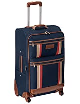 Tommy Hilfiger Polyester 61 cms Navy Soft-sided Suitcase (TH/SCO08065)