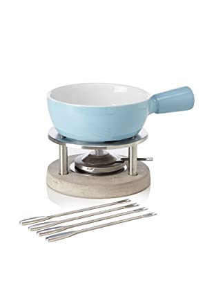 Boska Holland 1-Liter Ceramic Fondue Set, Blue