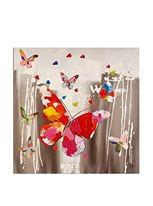 Arte dal Mondo  Wandbild Edgar Ramirez Farfalle