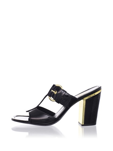 Ash Women's Buckle Sandal (Black)