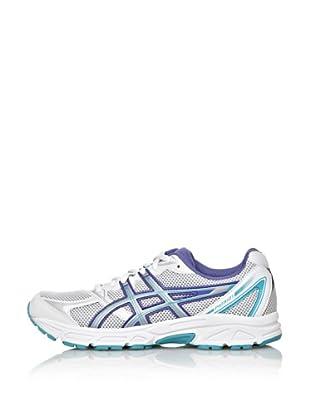 Asics Zapatillas Running Patri 6 (Blanco / Azul)