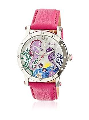 Bertha Uhr mit Japanischem Quarzuhrwerk Morgan pink 41 mm