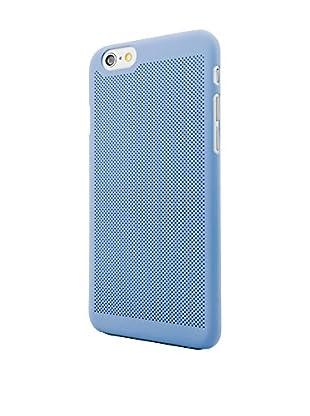 NUEBOO Hülle Microperforada iPhone 6/6S blau
