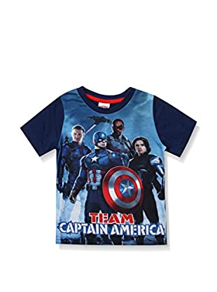 Marvel T-Shirt Manica Corta Team Ca