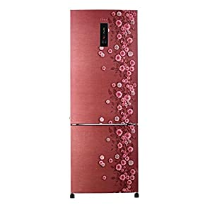 Haier HRB-3403PRL Frost-free Freezer-on-Bottom Refrigerator (320 Ltrs, 3 Star Rating, Red Liana)