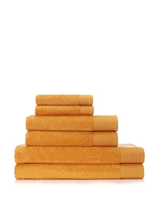 Schlossberg Sensitive 6 Piece Towel Set (Mandarine)