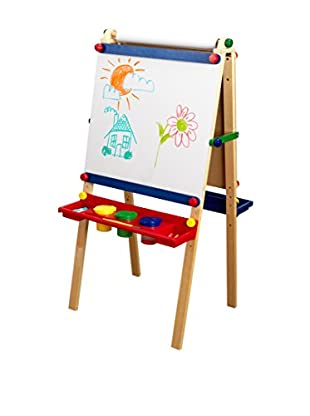 KidKraft Artist Easel with Paper, Multi