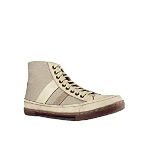 Beige/Sand Leather Sneakers