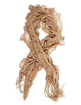 Hot Fashion Women Neck Warmer Fold Tassel Scarf Shawl