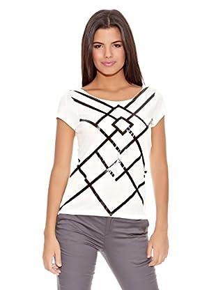 Springfield Camiseta Triangulos Vinilo