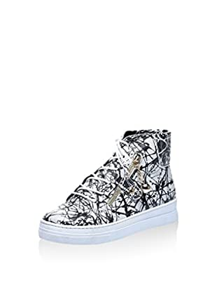Los Ojo Hightop Sneaker Splash