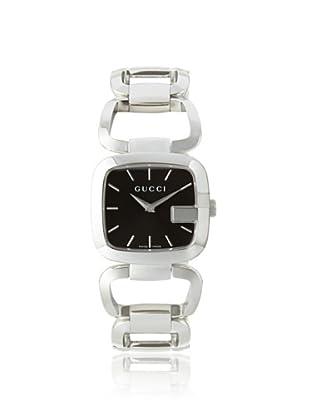 Gucci Women's YA125407 G-Gucci Black Stainless Steel Watch