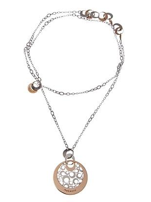 Rebecca XGRKXB55 - Collar de mujer de acero inoxidable y bronce