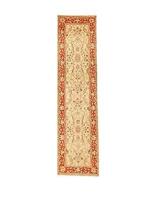 Design Community By Loomier Teppich Oz Ziegler Farahan beige/koralle 81 x 314 cm