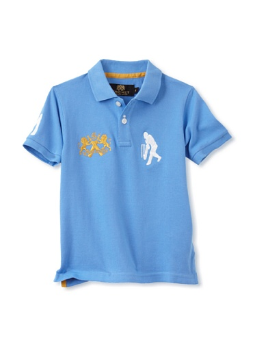 Sher Singh Boy's Classic Polo (Blue)