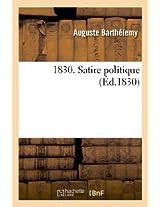 1830. Satire Politique