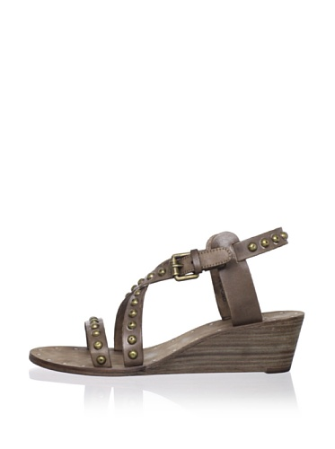 Ash Women's Orchid Bis Wedge Sandal (Stone)