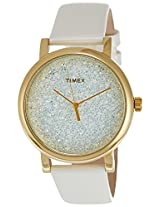 Timex Analog White Dial Women's Watch - T2P278