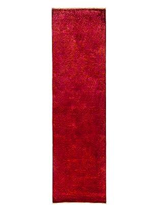 Darya Rugs Transitional Oriental Rug, Raspberry, 10' 4