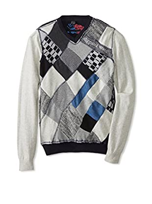 Desigual Men's Patterned Sweater