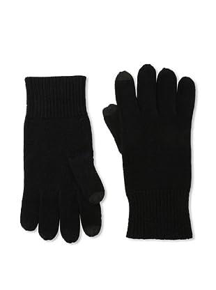 Sofia Cashmere Men's Smartphone Touchscreen Gloves (Black)