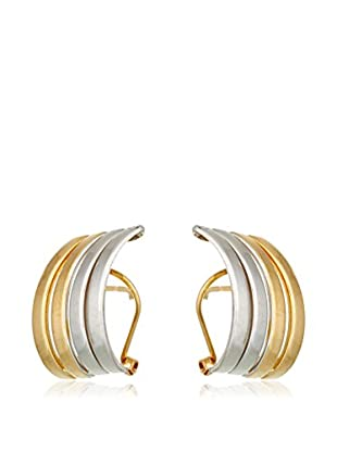GOLD & DIAMONDS Pendientes  oro bicolor 18 ct