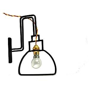 Studio Dhi Goose Neck Wall Lantern Lighting