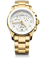 Victorinox Chrono Classic Analogue White Dial Men's Watch - 241537