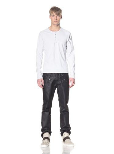 i.am Men's Long Sleeve Henley (Light Grey)
