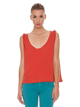 Hakei Camiseta Canalé Extrafino (Rojo)