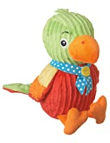 "Monkeez ""Rico"" Mini Red Parrot Plush"