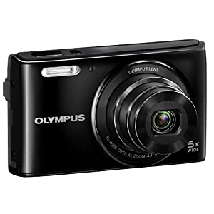 Olympus VG-180 16MP Point and Shoot Camera (Bkack) with 5x Optical Zoom