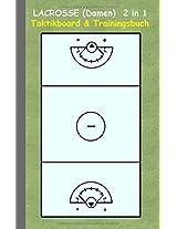 Lacrosse (Damen) 2 in 1 Taktikboard Und Trainingsbuch