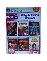 Fighters Club - Pack of 6 Games (Pc CD-Rom)