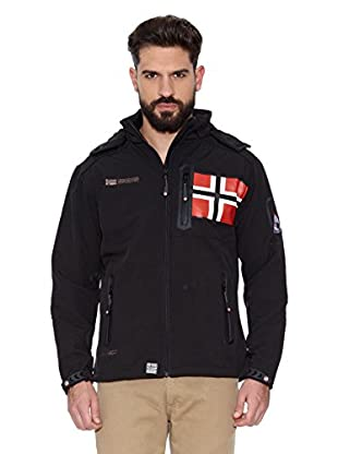 Geographical Norway Chaqueta Soft Shell Revlon Men 4 (Negro)