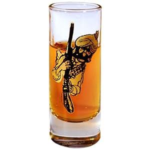 Happily Unmarried Daaku Chowdhary Shot Glass, Set of 2
