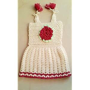 HighKnit Tie-Up Dolly Baby Girl Dress