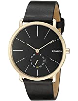 Skagen End-of-season Hagen Analog Black Dial Men's Watch - SKW6217
