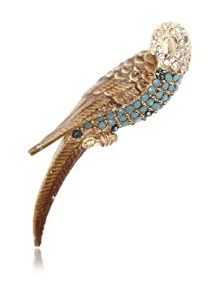 Lulu Frost 1920's Art Deco Parrot Brooch